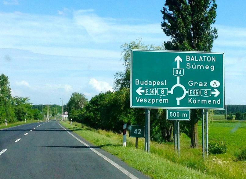 Оплата за пользование автомобильными дорогами в Венгрии