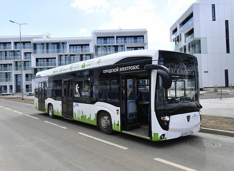 100 электробусов Москве