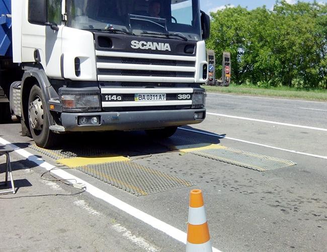 Допустимые весогабаритные параметры транспортных средств в Грузии