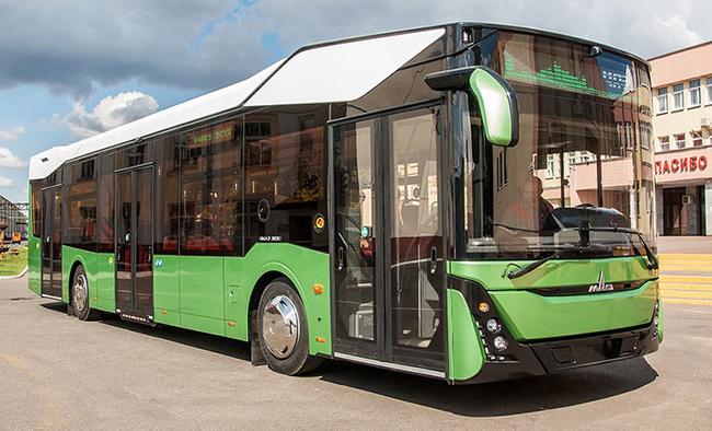 Третье поколение автобусов МАЗ