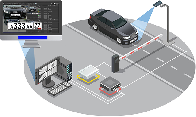 Система мониторинга распознает номера машин из 14 стран