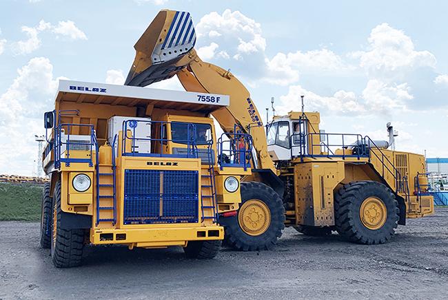 Новая модель 90-тонника БЕЛАЗ