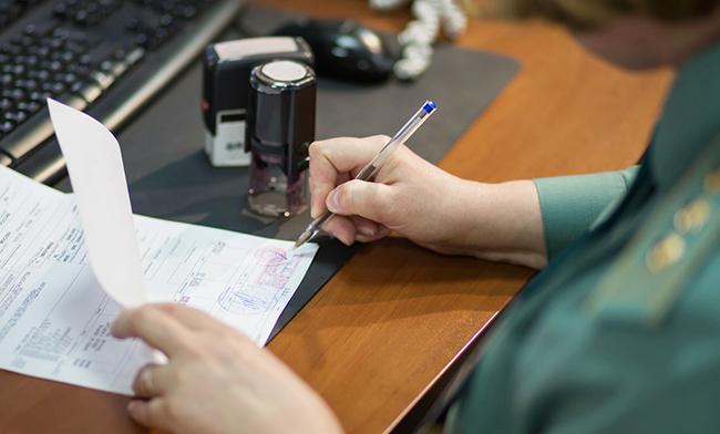 Представление документов при электронном декларировании транзита