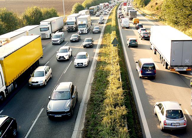 Запреты движения грузовиков в Европе