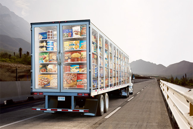 Упрощены требования при транспортировке продовольственных и непродовольственных товаров