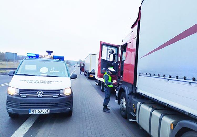 SENT. Транзит по Польше