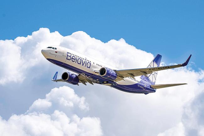 Первый рейс «Белавиа» в Москву