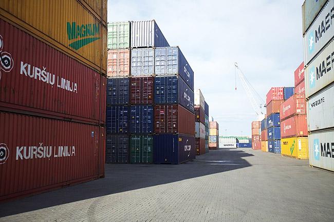 Порты Литвы и Латвии по итогам девяти месяцев