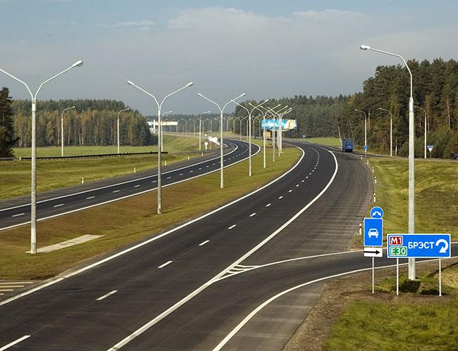 Наименования, индексы и номера республиканских автомобильных дорог Беларуси