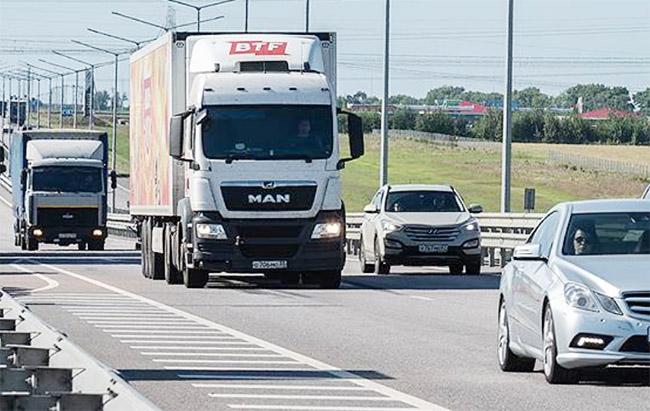 Летние ограничения для грузовиков в Украине