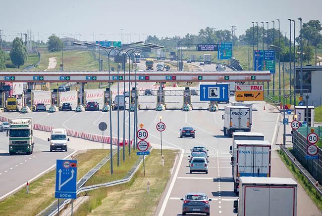 Регистрация в польской электронной системе оплаты дорог e-TOLL