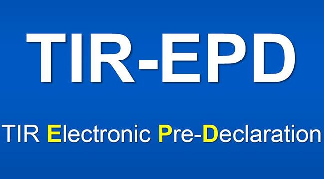 TIR-EPD обязательно при перевозках с применением книжек МДП в Кыргызстане