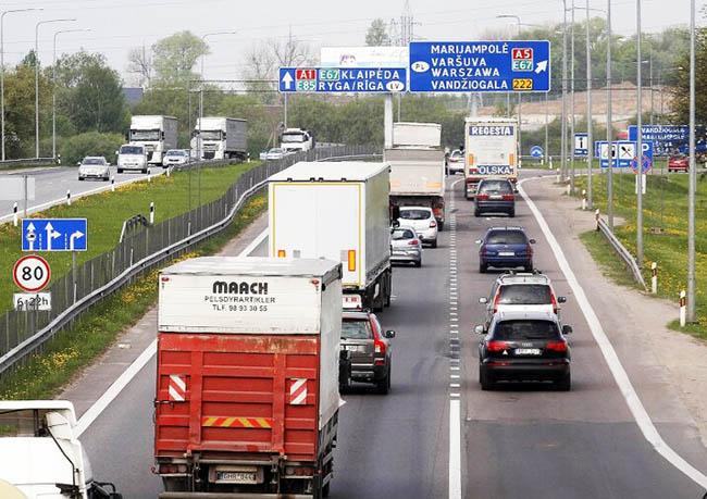 Дороги Литвы станут платными для легковых автомобилей