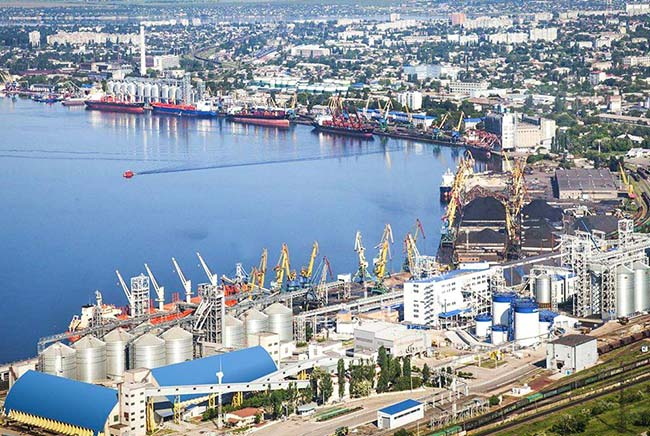 Грузообороты морских портов снижаются